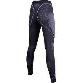 UYN Evolutyon UW Long Pants Women Charcoal/White/Light Grey
